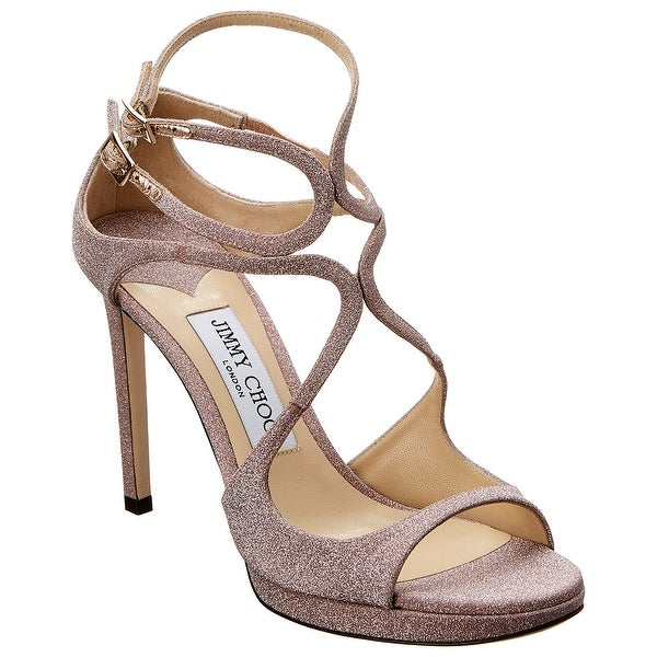 Jimmy Choo Lance 100 Glitter Sandal