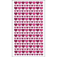 Glitter Hearts - Sticko Valentine's Day Stickers