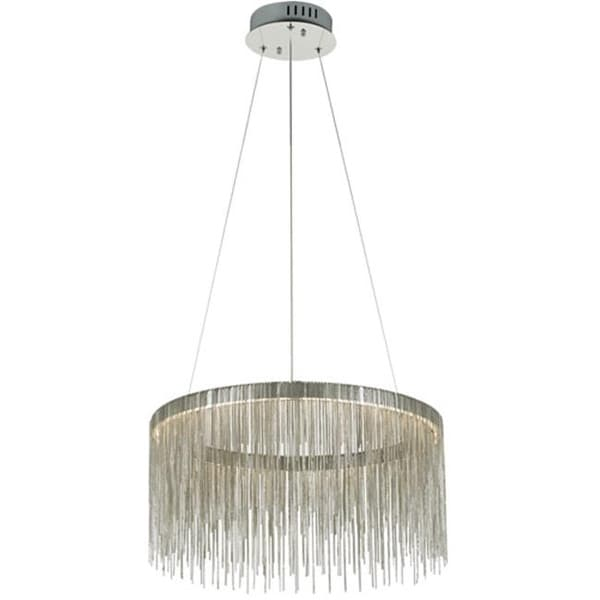 Davenport 1 Hanging Ceiling Pendant Light Polished Chrome Free Shipping Today 22442263