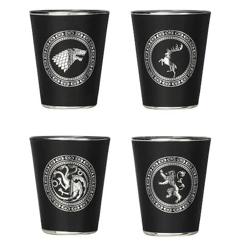 Game of Thrones Sigil Shot Glass Set