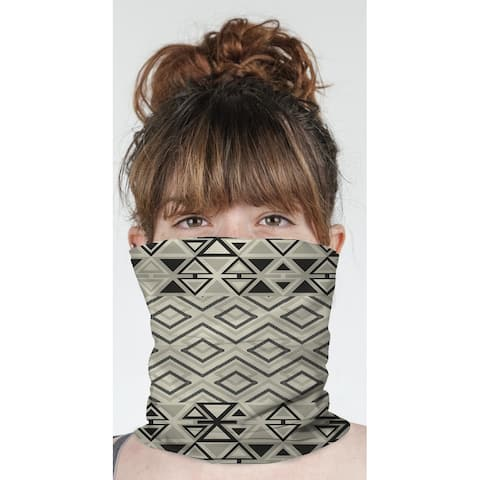 "TEELA CREAM Neck Gaiter By Becky Bailey - 10"" x 18"""