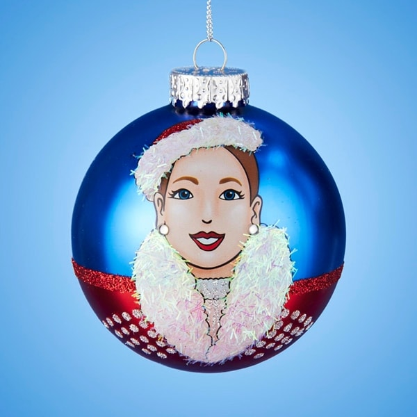 "3.25"" Radio City Christmas Spectacular Starring ""The Rockettes"" Glass Christmas Ball Ornament (80mm)"