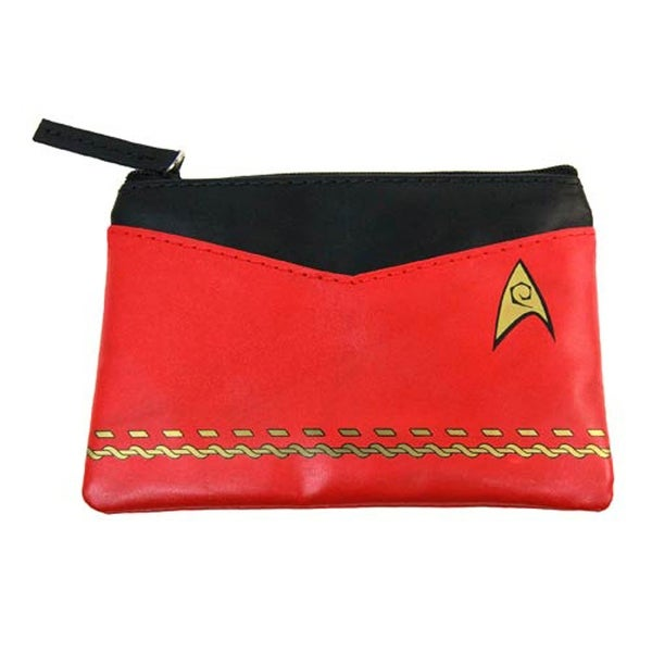 Star Trek Red Uniform Coin Purse