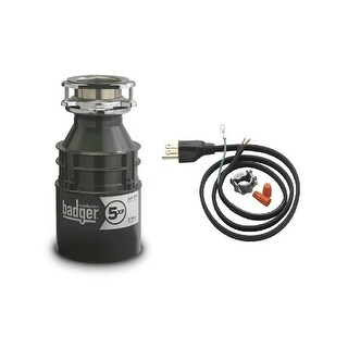 InSinkErator Badger 5XP Badger 3/4 HP Garbage Disposal with Soundseal Technology (2 options available)
