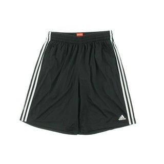 Adidas Mens Mesh Contrast Trim Athletic Shorts - M