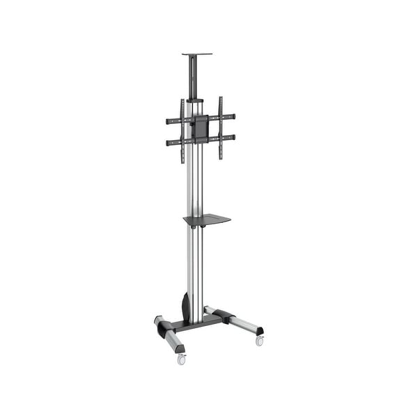 """Startech Stndmtv70 Rolling Portable Tv Cart For 32"""" To 70"""" Displays With One-Touch Height Adjustment"""