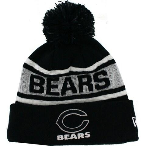Chicago Bears Big Fan Glow In The Dark Knit Hat