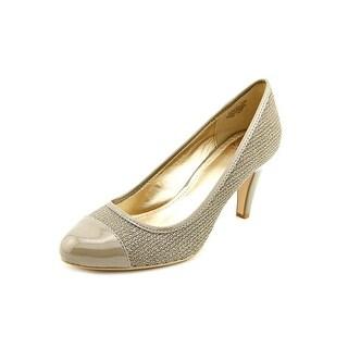 Circa Joan & David Hestley Round Toe Leather Heels