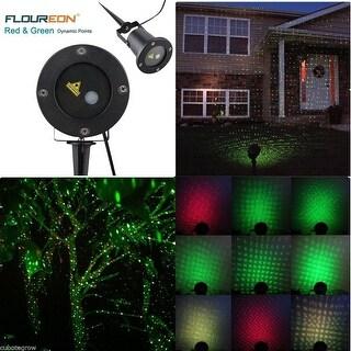 Waterproof Outdoor Red Green Laser Projector Light Lawn Garden Valentine Décor
