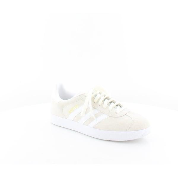 premium selection 5e7fb 4a0b3 Adidas Gazelle Women s Athletic Off White White Gold - 8.5