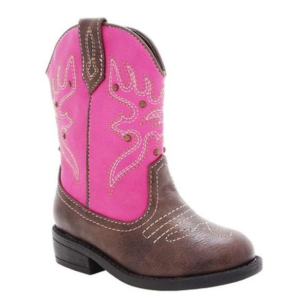 Shop Nina Girls  Mirabela Cowboy Boot - Kid Light Pink Metallic ... c8e1fecddce6