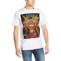 LRG Men's Lion Chief T-Shirt - Black - Small