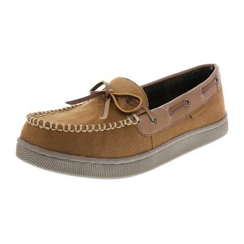 Airwalk Men's Mason Slip-on Moccasin Slipper Shoes