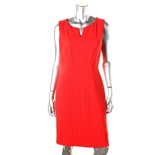 Hugo Boss Womens Solid Sleeveless Wear to Work Dress - 6