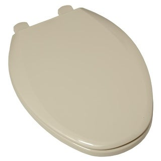 American Standard 5257A.65C Easy Lift & Clean Elongated Toilet Seat with Closed Front and Cover