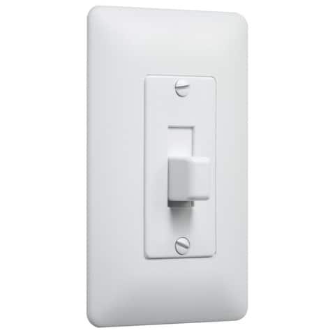 TayMac 5070 Masque Wall Switch - White