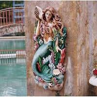 Design Toscano Melody's Cove Mermaid Wall Sculpture