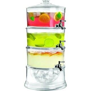 Jumbl Stackable 3-Gallon Beverage Serve-Chilled Dispenser