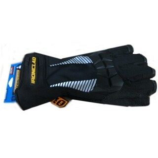 Ironclad CCT2-06-XXL Tundra Cold Condition W/Cryoflex Glove, Black, XX-Large