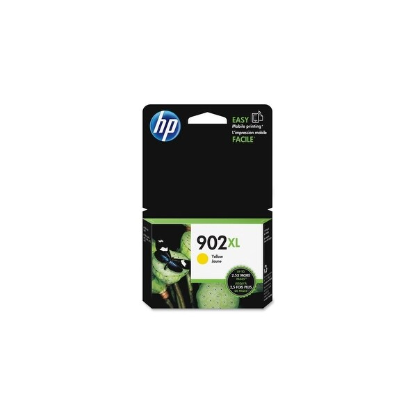 HP 902XL High Yield Yellow Original Ink Cartridge (T6M10AN) (Single Pack)