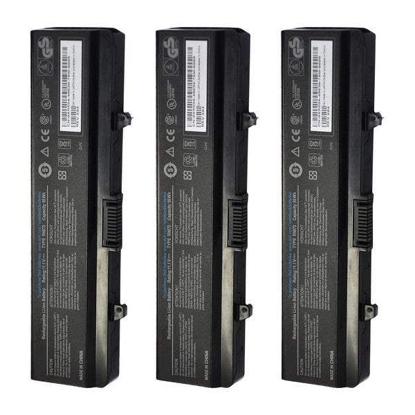 Replacement 4400mAh Battery For Dell GP952 / J399N Battery Models (3 Pack)