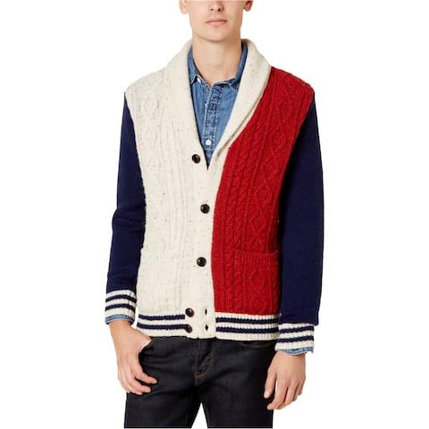 Tommy Hilfiger Mens Stevenson Cardigan Sweater