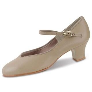 Danshuz Womens Tan Character Tap Queen Dance Shoes Size 3.5-12