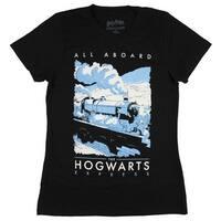 Harry Potter Juniors All Aboard The Hogwarts Express T-Shirt