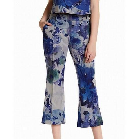 ABS by Allen Schwartz Women's 0X25 Floral Dress Pants