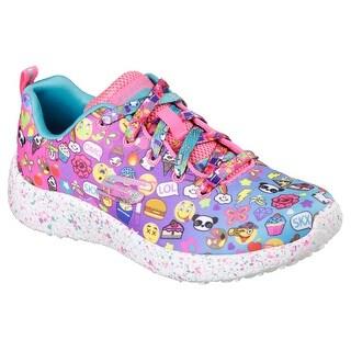 Skechers 81911L MLT Girl's BURST - EMOTI-CUTIE Sneaker