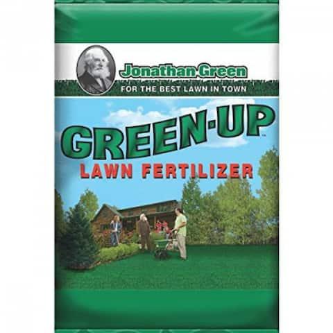 Jonathan Green 11989 Green-Up Lawn Fertilizer, 29-0-3, Covers 15000 Sq. Ft.