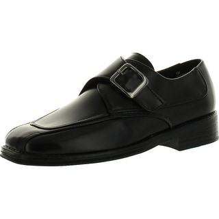 Scott David Boys Dress Shoes With Single Monk Strap