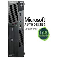 Refurbished Lenovo M90 SFF intel i5(650) 8GB 120GB SSD DVD W10P WiFi