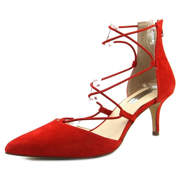 INC International Concepts Daree Women Bright Red Pumps