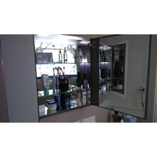 Fresca Medium Mirrored Medicine Cabinet