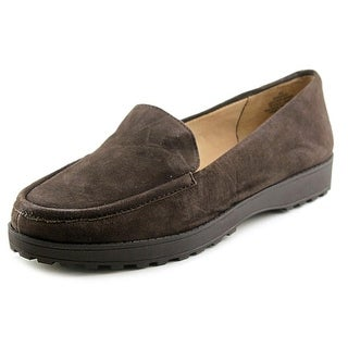Easy Spirit e360 Margy Women Round Toe Leather Brown Loafer