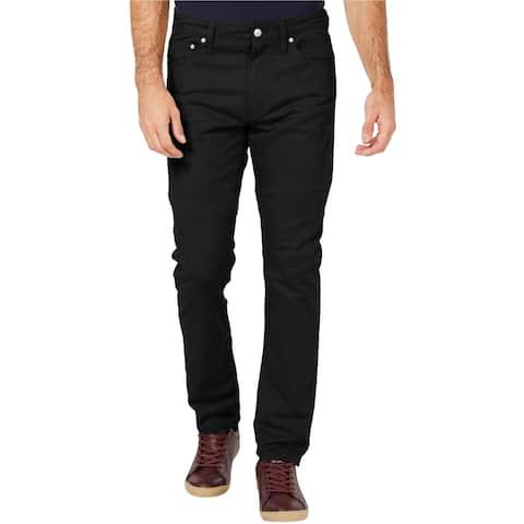 Calvin Klein Mens Stretch Twill Slim Fit Jeans