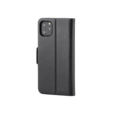 Monoprice iPhone 11 Pro Max PU Leather Wallet Case - Black, With Card Slots