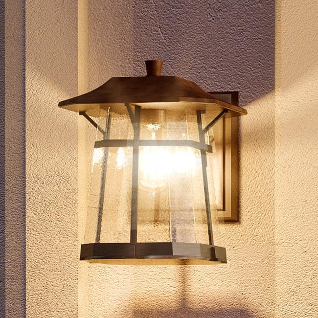 Luxury Rustic Outdoor Wall Light