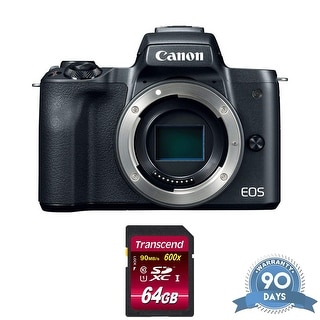 Link to Canon EOS M50 Mirrorless Digital Camera (Body Only, Black) with Memory Similar Items in Digital Cameras