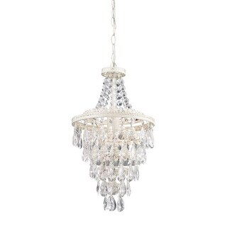 Sterling Industries 122-002 1 Light 1 Tier Empire Chandelier with Crystal Insets