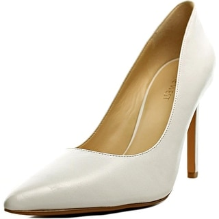 Nine West Tatiana Women Pointed Toe Leather White Heels