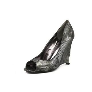 Fergie Nikita   Open Toe Synthetic  Wedge Heel