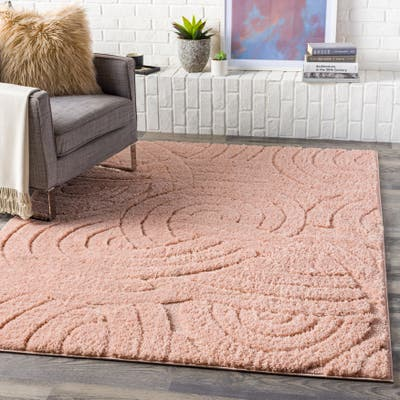 Dollie Transitional Knot Plush Area Rug