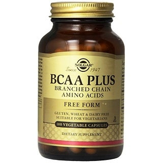 Solgar - Bcaa Plus Vegetable Capsules (Branched Chain Amino Acids) - 100