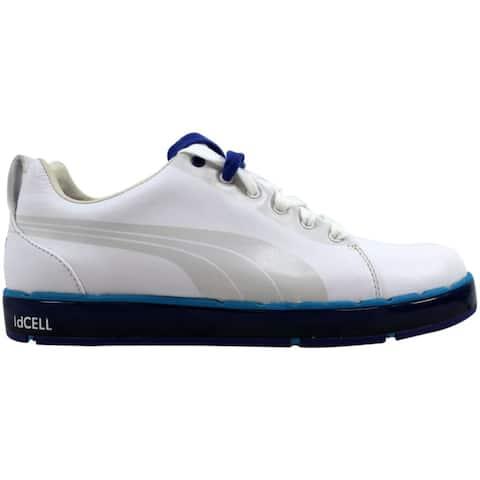 Puma Men's HC Lux LE Golf White/Vivid Blue-Surf 186093 03 Size 7