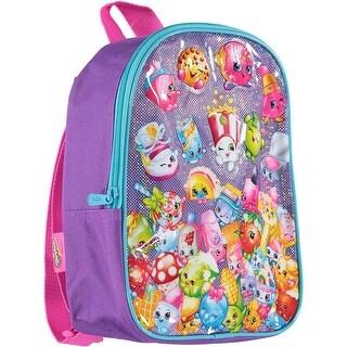Shopkins Girls Shimmer Mini Backpack - Aqua