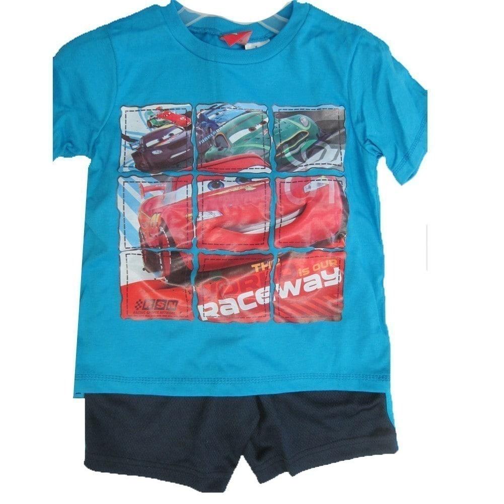 Jujak Cars Lightning McQueen Shorts Boys Cotton Blue