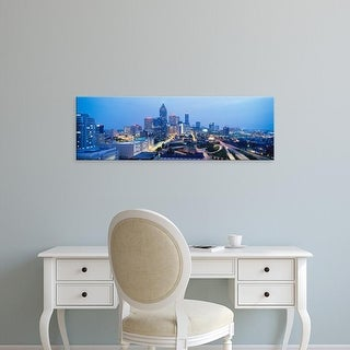 Easy Art Prints Panoramic Images's 'Evening In Atlanta, Atlanta, Georgia, USA' Premium Canvas Art