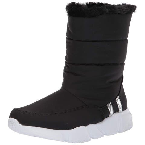 Steve Madden Womens Snowday Closed Toe Mid-Calf Cold Weather Boots